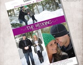Wedding Movie Poster - DIGITAL FILE ONLY