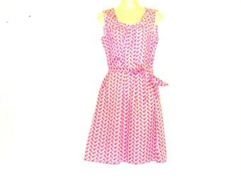 Floral Dress, Tea Dress, Shift Dress, Multi Wear Dress, Womens Dress, Size 10, Size 8, By Rebeccas Clothes