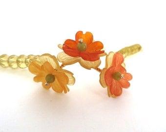 Orange Blossoms Bracelet