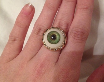 Resin Eyeball Ring