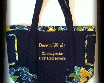 Personalized Embroidered Purse/Tote Bags
