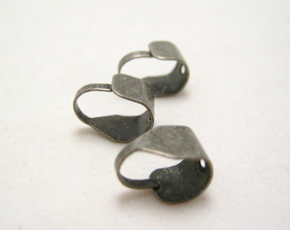 brushed silver tone adjustable bail 12mm (2)