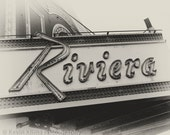 Riviera - Uptown Chicago Photography Print vintage sign photo