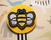 Honey Bee Soothie Pacifier Clip