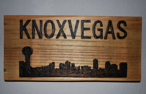 Items Similar To Knoxville, Tennessee Sign: Knoxvegas