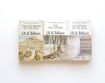 The Lord of the Rings 3 Book Set - JRR Tolkien - Ballantine Books Authorized Edition