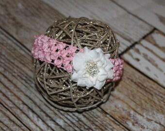 Newborn headband  - Infant Headband - Photography Prop