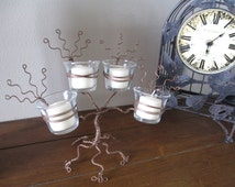 Candle Tree of Light Display Centerpiece Candle Holder - Ready to Ship SALE PRICE
