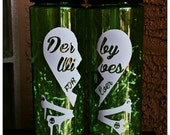 Customized Roller Derby Wives  24 ounce tritan Water bottle