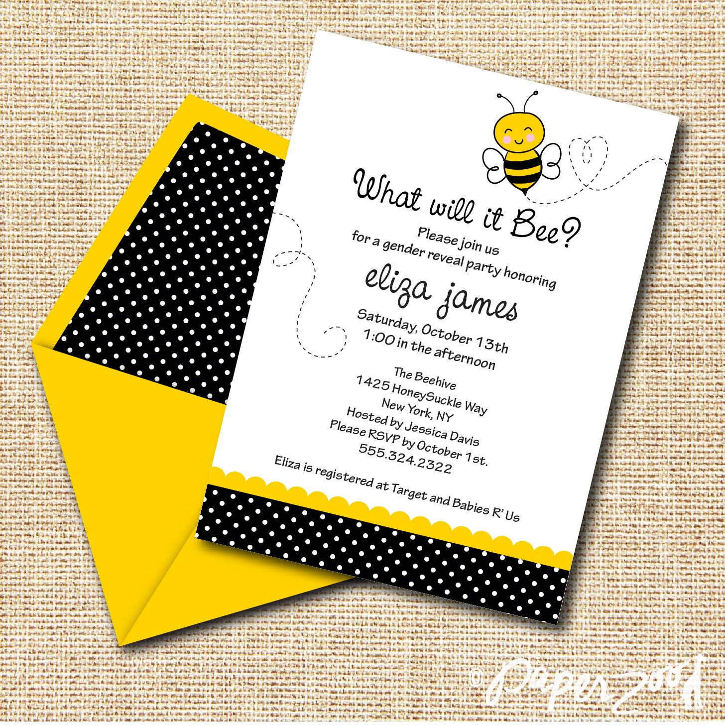 instant download babyshower what will it bee gender reveal