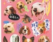 Kawaii Japan Sticker Sheet Assort: Kawaii Japan Novelty Dogs Pet with Japanese Phrases