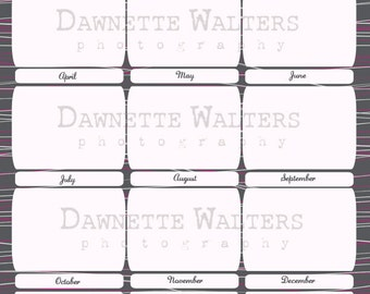 Printable Important Dates Download Family Organizer