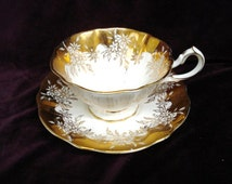 Exquisite Vintage Cup and Saucer by Queen Anne Bone China England