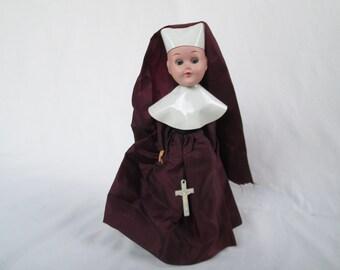 Vintage Nun Doll No.8