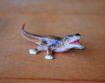Alligator Figurine