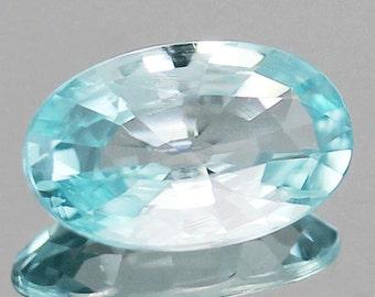2.50 Ct. 100% Natural Blue Zircon Oval Loose Gemstone