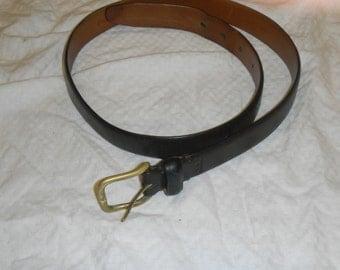 Ralph Lauren leather belt  size 32
