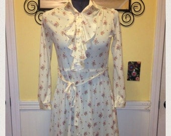 Vintage Buttercup Sears Dress size small