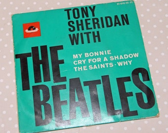Rare Vintage Tony Sheridan with The Beatles 4 Track 7 inch Vinyl Single - Kath