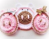 Sweet Pigs Crochet Pattern