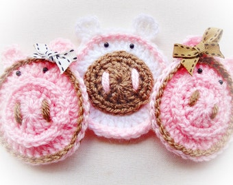 Sweet Pigs Crochet Pattern