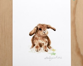 Little Lop - a Timorous Beastie print