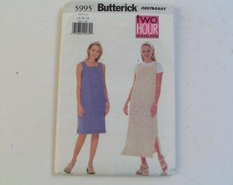 Butterick Pattern 5995 Miss Dress