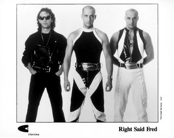 Right Said Fred Publicity Photo   8 by 10 Inches