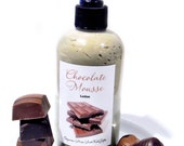 Chocolate Mousse Lotion - Body Butter in a Pump Bottle - Vegan Lotion with Organic Ingredients - 8oz.