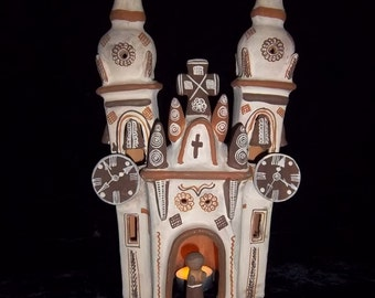 Magnificent Candleholder - Spanish Cathedral Traditional Old World Spain Candle Holder Cover