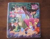 Vintage Walt Disney's Alice in Wonderland hardcover book, published 1951