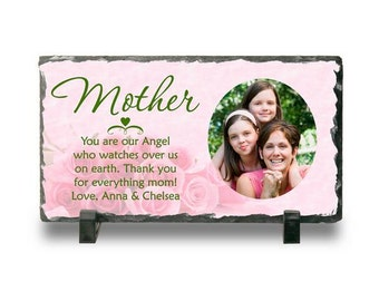 Personalized Photo plaque for Mom