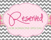 Reserved Listing for Leah.  Custom Listing for 19 Custom Gift Bags. Purple Tan and White gift bags
