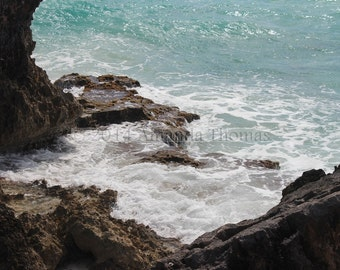 Rocky Shores - the Grotto 8x10 photo matted to 11x14