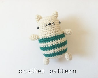 Crochet Pattern - Little Kitten (Amigurmi Cat)