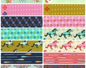 SALE - MUSTANG by Melody Miller for Cotton + Steel - Fat Quarter Bundle - Complete Collection of 14 Prints