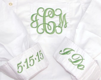 Personalized Bride Wedding Day Shirt - great for the bride and bridal party for wedding prep!
