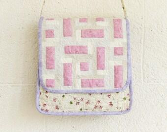 Gentle soft coloured bag, flap cover shoulder bag/purse, spring coloured shoulder bag, Reduced to clear!