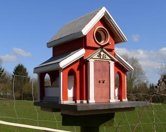 """Church Birdhouse    """"Öre Sund"""""""