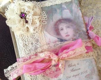Wedding guest book - Sweet Romance