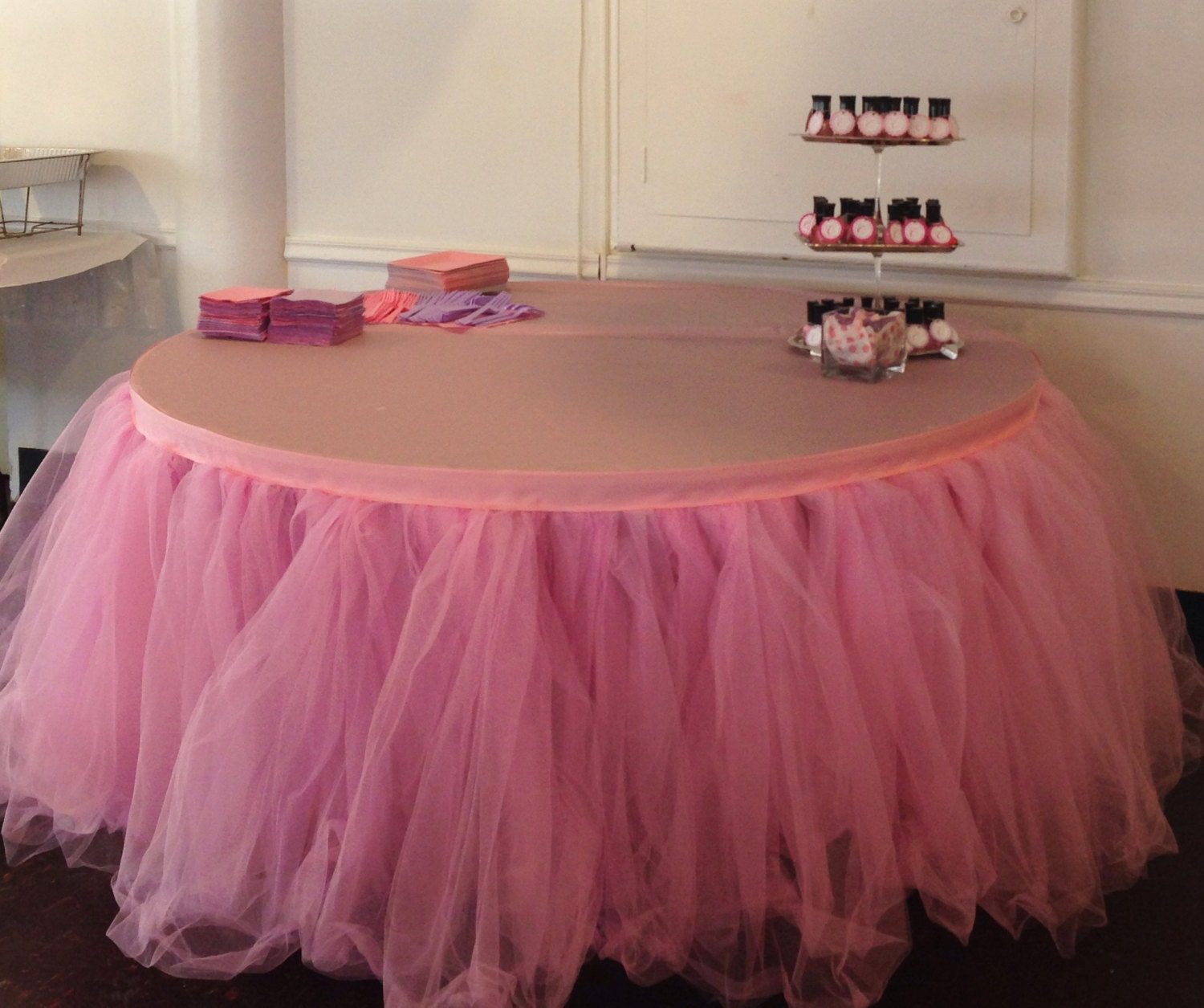 Plastic Table Skirts