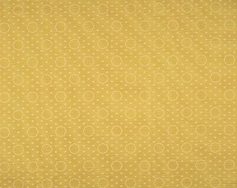 SCALAMANDRE REVEILLON UNITO Silk Jacquard Fabric 10 Yards Giallo