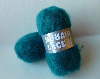 Yarn Sale Teal 5-22 Mohair Lace II by Filati Europa