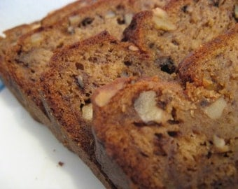 Banana Nut Bread, 6 Loaves of Homemade bread, Moist, & Delicious Banana Bread. Get 6 Loaves FREE SHIPPING