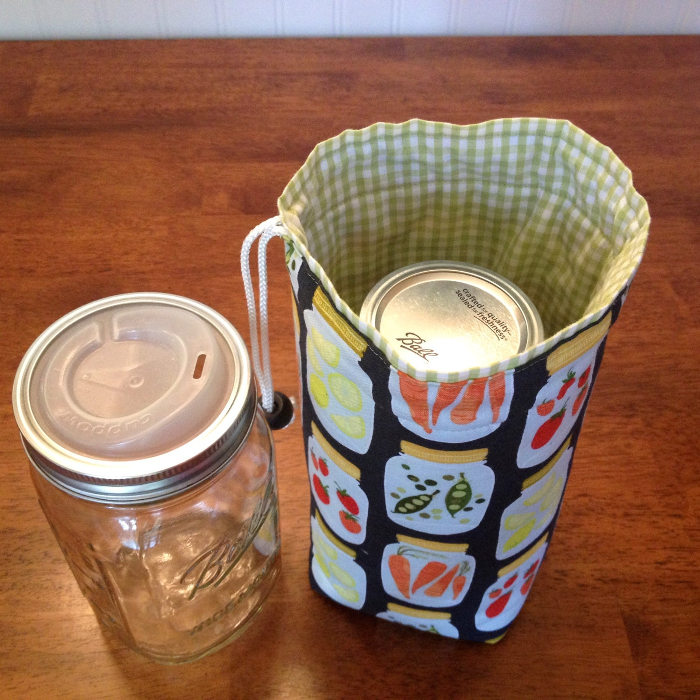 jars to go single quart size mason canning jar by atinyforest. Black Bedroom Furniture Sets. Home Design Ideas