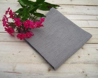 Linen towel, waffle towel, terry towel, bath towel, spa towel, bath sheet, hand towel, soft towel, pure towel, waffle weave, towel, gray