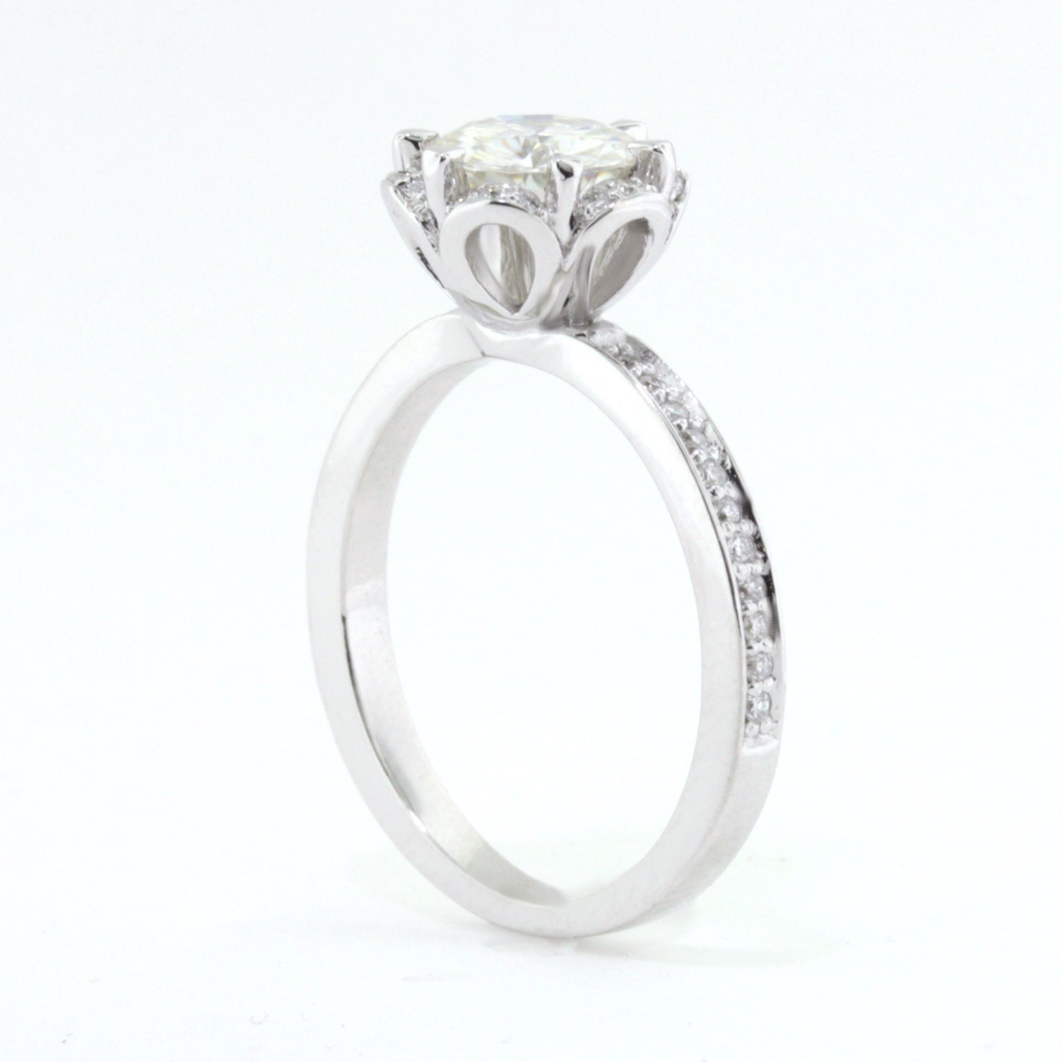 custom order engagement ring and s wedding band