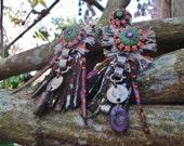 "ethnic earrings "" Tribal's day"" / Grafik / summer 2014 collection"