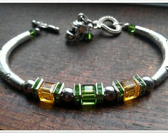 Inspired by the Green Bay Packers Bracelet