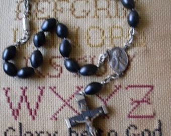 Vintage Monastery Rosary Necklace  Beaconhillcollect Jewelry   We Ship Internationally